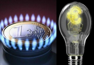 diminuzione luce e gas