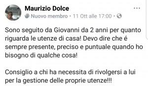 Testimonianza Maurizio Dolce