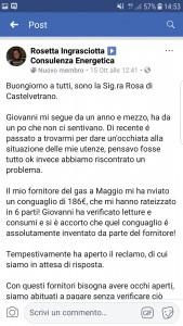 Testimonianza Rosa Ingrasciotta