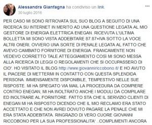 Testimonianza Alessandra Gianfragna
