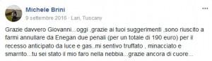 Testimonianza Michele Brini