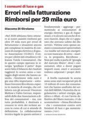 Giornale di Sicilia - 13 Febbraio 2021 - 29 mila euro recuperati